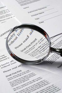 As painstaking as it is, reading the fine print will help you to avoid costly mistakes.