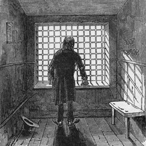 Debt Pictures Inmates at this London debtors' prison in the 1800s were allowed to beg passers-by for money through the grate in the wall. See more pictures of debt.