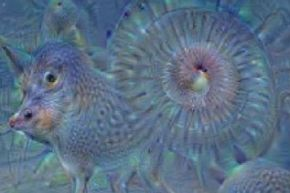 When Deep Dream creates its own images, the results are fascinating but not exactly realistic.