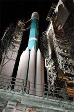 Deep Impact on the launch pad