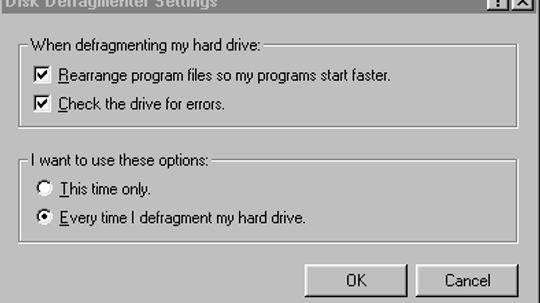 How does disk defrag work?
