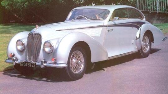 1947 Delahaye 135MS Teardrop Coupe