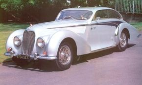The 1947 Delahaye 135MS teardrop coupe is one the last models made by Delahaye. The company stopped production in 1954. See more classic car pictures.