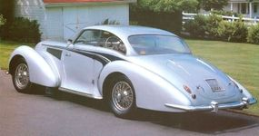 Delahaye created its most famous model, the Type 135, in 1936.