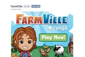 FarmVille, developed by Zynga, is the most popular game on Facebook.
