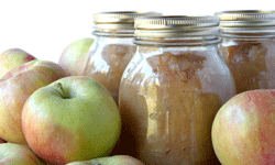 Applesauce makes a good low-fat stand-in for oil or eggs.