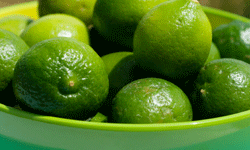 By using fat-free dairy and a butter substitute, you can cut the calories in your Key lime pie.