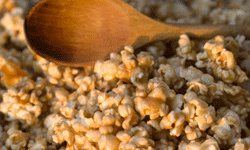 Since popcorn is a whole-grain, it will fill you up faster.
