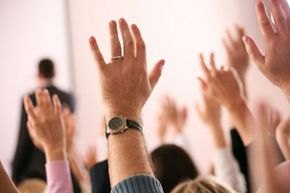 Simply raising your hand in favor or in opposition to an issue at a PTA meeting is a form of exercising the vote in a microcosmic democracy.