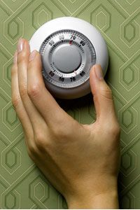 If you lived in a smart house, you wouldn't have to turn down the thermostat to save energy -- the house would do it for you.