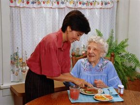 The task of caring for a person with dementia usually falls to a close relative.