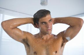 Does lathering with deodorant soap really keep you from smelling? View more men's health pictures.