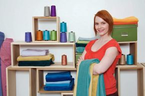 Organization will make your sewing life so much easier.