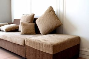 Your ottoman can double as a storage chest, and your couch as a bed.
