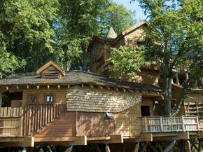 Designer tree houses can be as big and ornate as your tree can stand. See more pictures of home design.