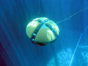 The DEPTHX AUV underwater