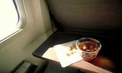 Thanks to airline deregulation, this paltry offering may be your only meal on a cross-country flight. Hungry yet?