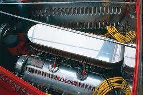 The Deucari boasts a Ferrari 365 GT 2+2 engine.