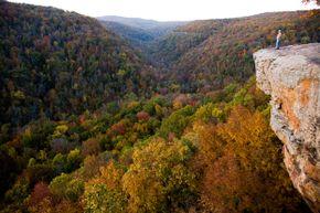 The Arkansas wilderness at Devil's Den State Park swallowed up Katherine Van Alst.
