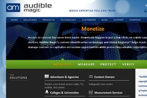 The digital fingerprinting service Audible Magic promises to help companies monetize their copyrighted content.