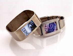 IBM has developed a prototype bracelet display.