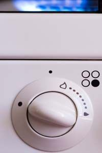 Stove dials can be difficult to gauge accurately.