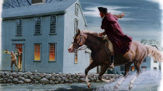 Did Paul Revere Really Yell 'The British Are Coming'?