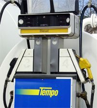 A lot of diesel pumps are separated from the unleaded pumps, which could also prevent pumping the wrong fuel.