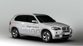 BMW X5 Vision Diesel Hybrid concept