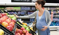 Pregnancy causes many women to develop healthier habits.