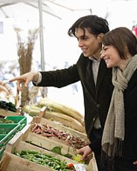 Opt for local, organic produce, like the kind you find at farmers' markets, for optimal nutrition.