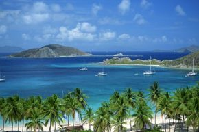 The British Virgin Islands are home to fantastic beaches and lots of U.S. investment income.