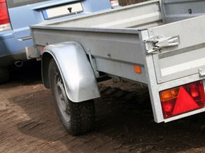 Backing up a trailer can be a nightmare. See more truck pictures.