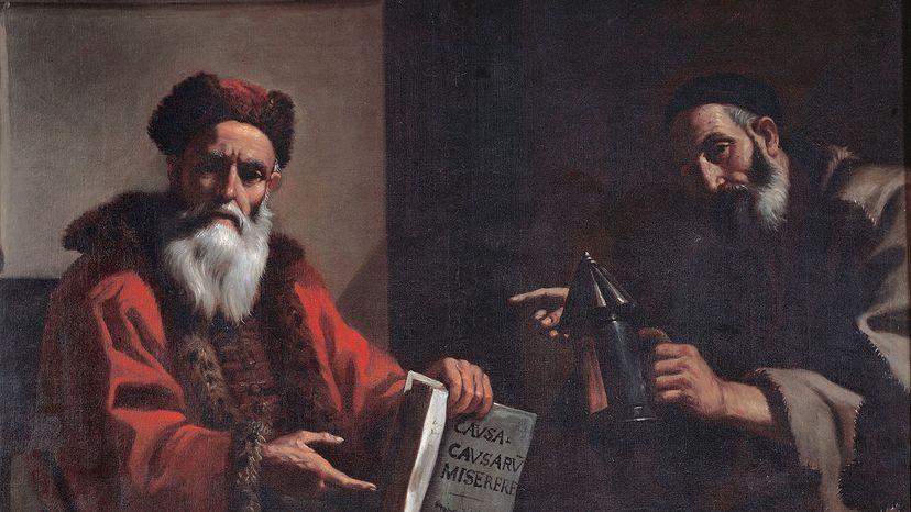 Diogenes and Plato