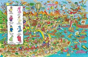 Find the dinosaurs in this picture.
