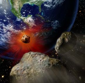 An asteroid collision off the coast of Central America was a big contributor to the disappearance of dinosaurs. See more pictures related to dinosaurs.