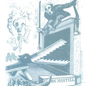 Cartoon of Gideon Mantell that appeared in 1839