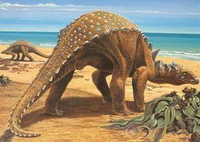 Sauropelta, an Early Cretaceous armored dinosaur
