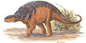 Panoplosaurus mirus. See more dinosaur images.