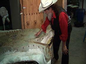 Dr. Robert T. Bakker started his work with Leonardo in 2002.
