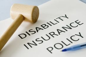 Disability payments from an insurance company may be taxable, depending on who paid the premiums.