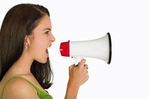 If she still doesn't get it? Get a megaphone for the ultimate wake-up call.
