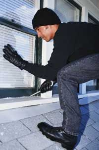 Locking windows and doors is the most important thing you can do to stop a break-in.