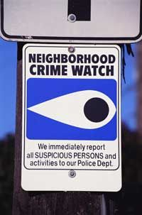 Neighborhood Watch groups have a proven track record for lowering crime.