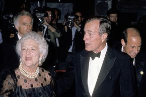 Both President George H.W. Bush and his wife Barbara Bush were diagnosed with Graves' disease, an immune disorder that results in hyperthyroidism.