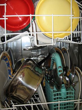 If your dishwasher isn't getting your dishes clean, you may not be loading it properly.