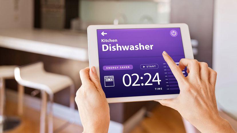 Smart dishwasher/ tablet