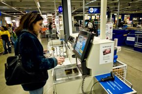 Self-checkout is appealing to people who are more comfortable skipping human interaction.