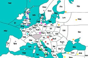 Diplomacy takes place in the world of early 20th century Europe.