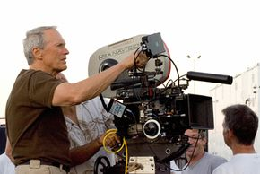 Clint Eastwood directing a movie